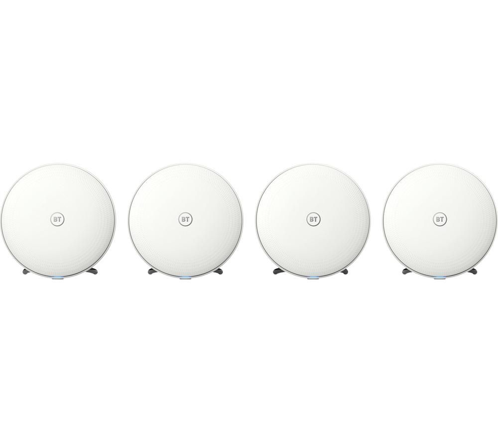 BT Whole Home WiFi System - Quad Pack