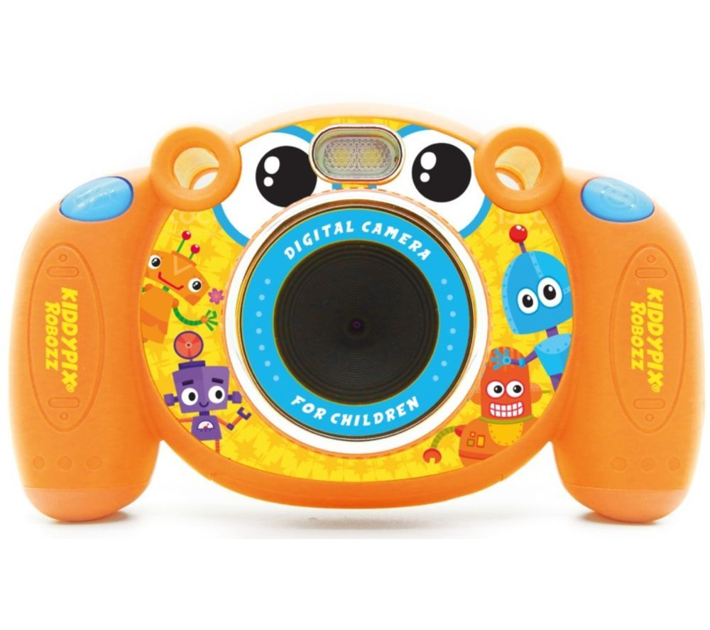 Click to view product details and reviews for Easypix Kiddypix Robozz Compact Camera Orange Orange.