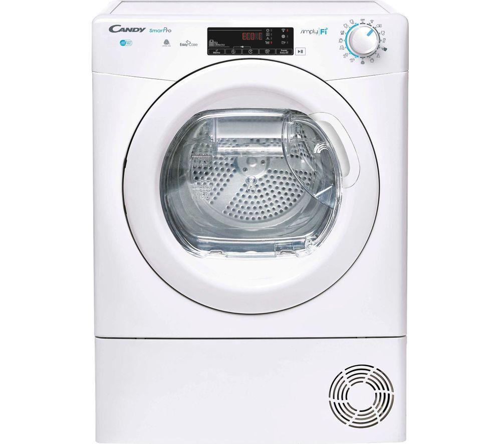 CANDY CSO H9A2TE WiFi-enabled 9 kg Heat Pump Tumble Dryer - White