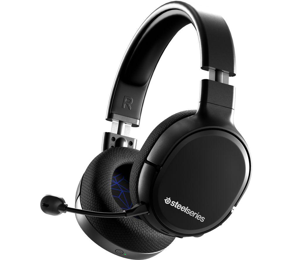 STEELSERIES Arctis 1 Wireless 7.1 Gaming Headset - Black