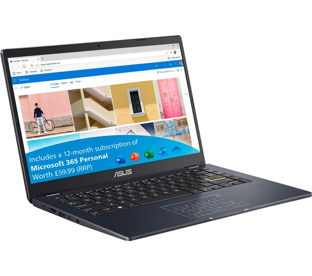 "Image of ASUS E410MA 14"" Laptop - Intel®Pentium, 128 GB eMMC, Blue, Blue"