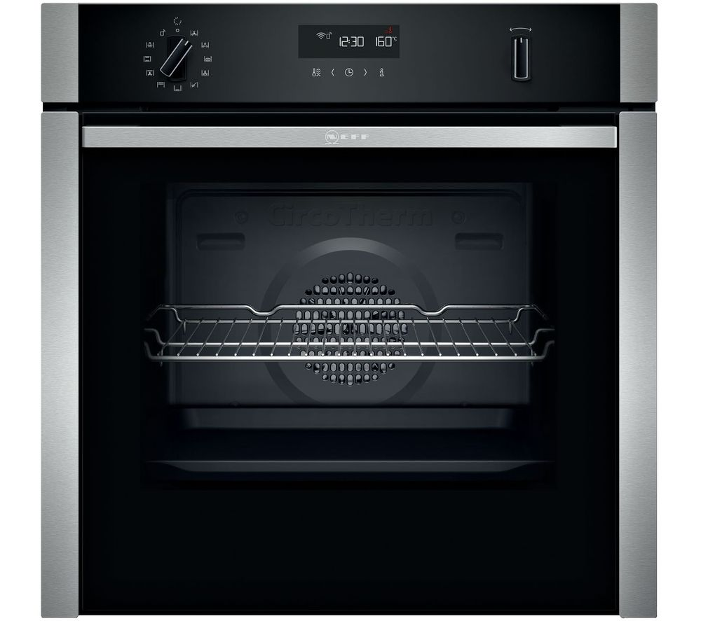 NEFF N50 B6ACH7HH0B Electric Smart Oven - Stainless Steel