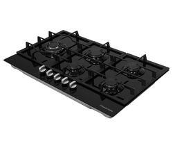 RH75GH601B Gas Hob – Black
