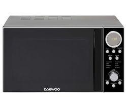 SDA2087GE Solo Microwave - Black & Silver