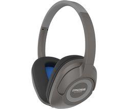 BT539i Wireless Bluetooth Headphones - Dark Grey