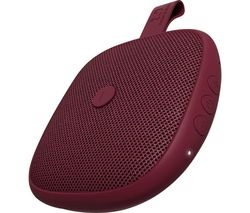 Rockbox Bold XS Portable Bluetooth Speaker - Ruby Red