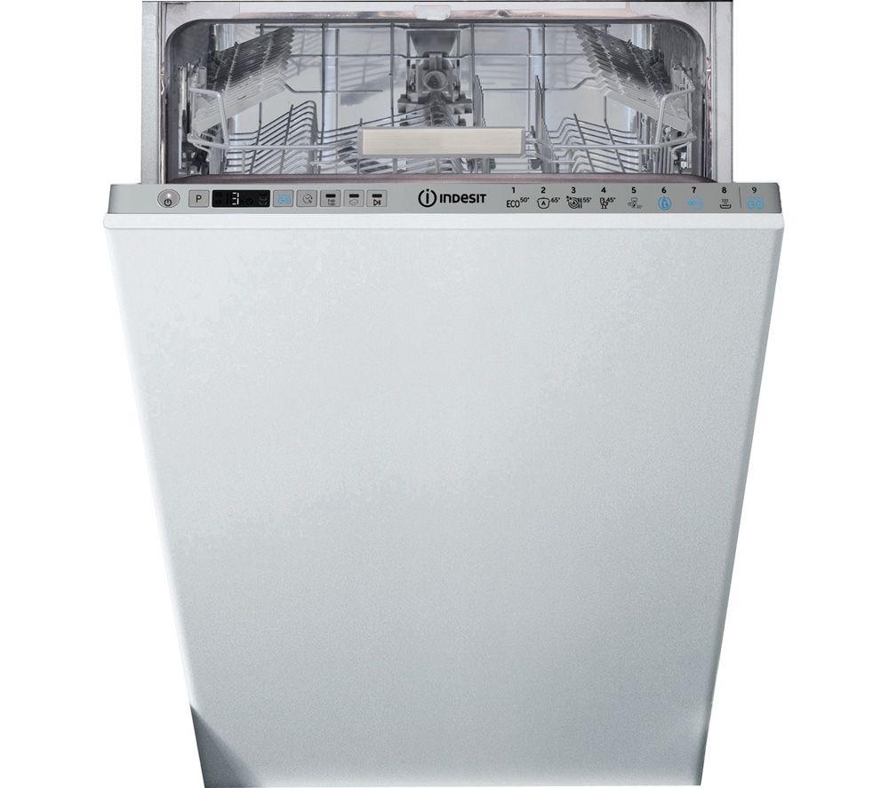 INDESIT DSIO 3T224 E Z UK N Slimline Fully Integrated Dishwasher