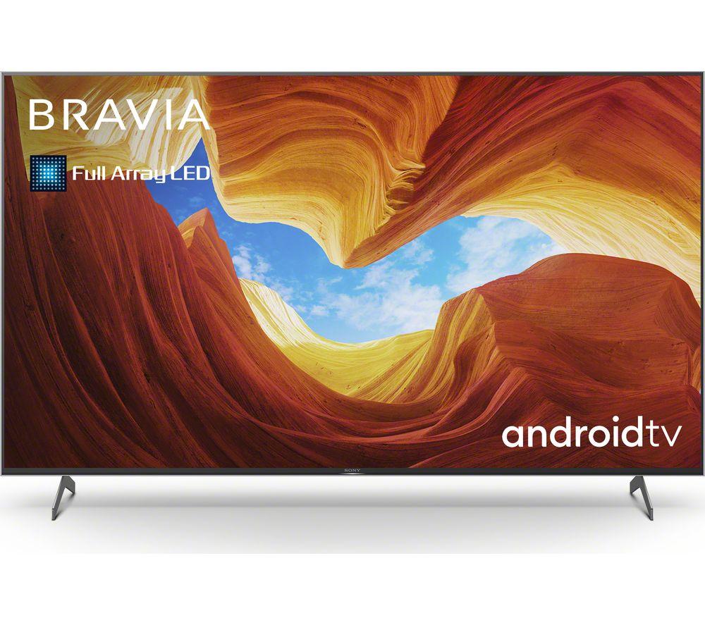 "65"" SONY BRAVIA KE65XH9296BU Smart 4K Ultra HD HDR LED TV with Google Assistant"