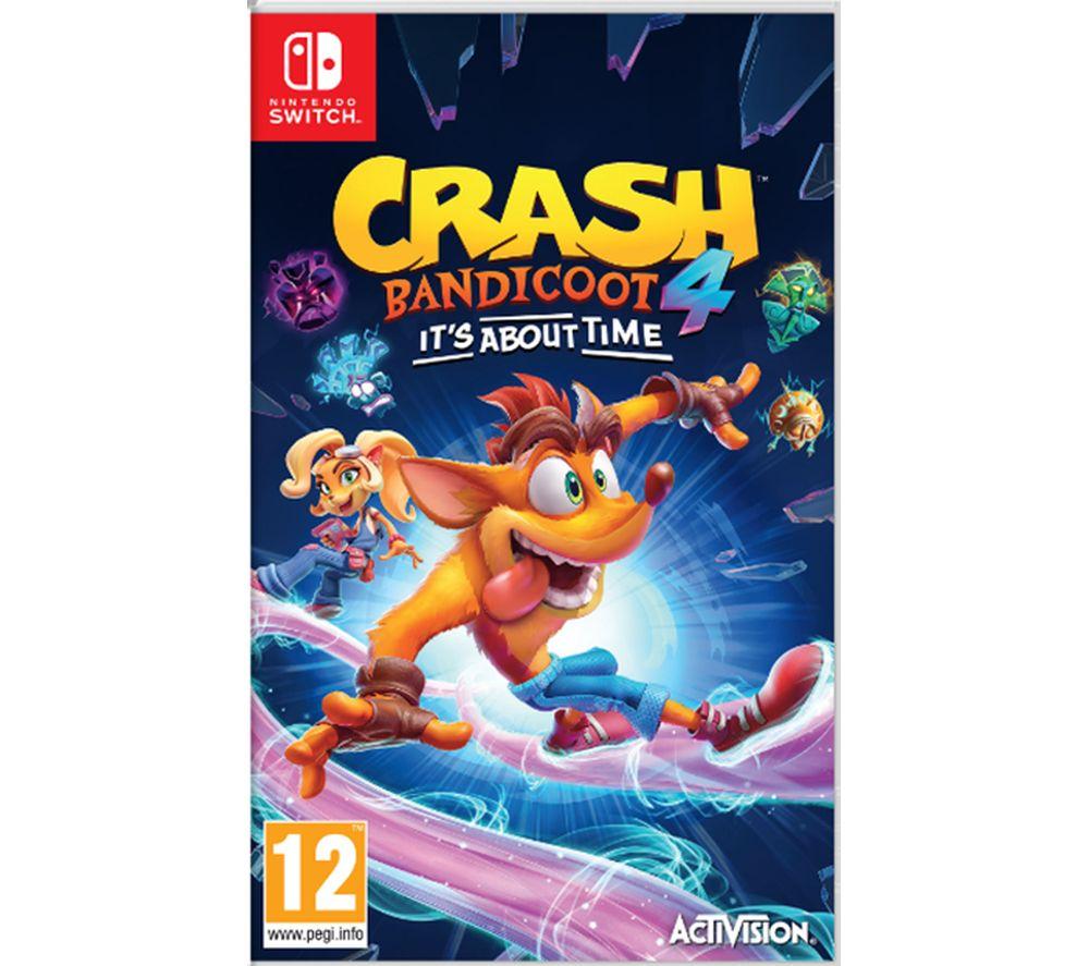 NINTENDO SWITCH Crash Bandicoot 4: It