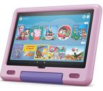 £199, AMAZON Fire HD 10 10.1inch Kids Tablet (2021) - 32 GB, Lavender, Fire OS 7, Full HD screen, 32GB storage: Perfect for apps / photos / videos, Battery life: Up to 12 hours, Add more storage with a microSD card,