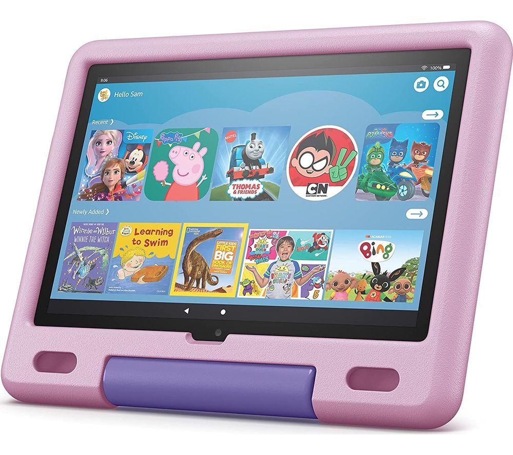 "AMAZON Fire HD 10 10.1"" Kids Tablet (2021) - 32 GB, Lavender"