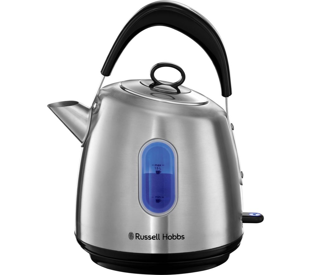 RUSSELL HOBBS Stylevia 28130 Traditional Kettle - Silver