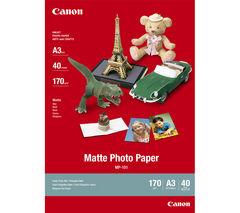 CANON A3 MP-101 Photo Paper - 40 Sheets