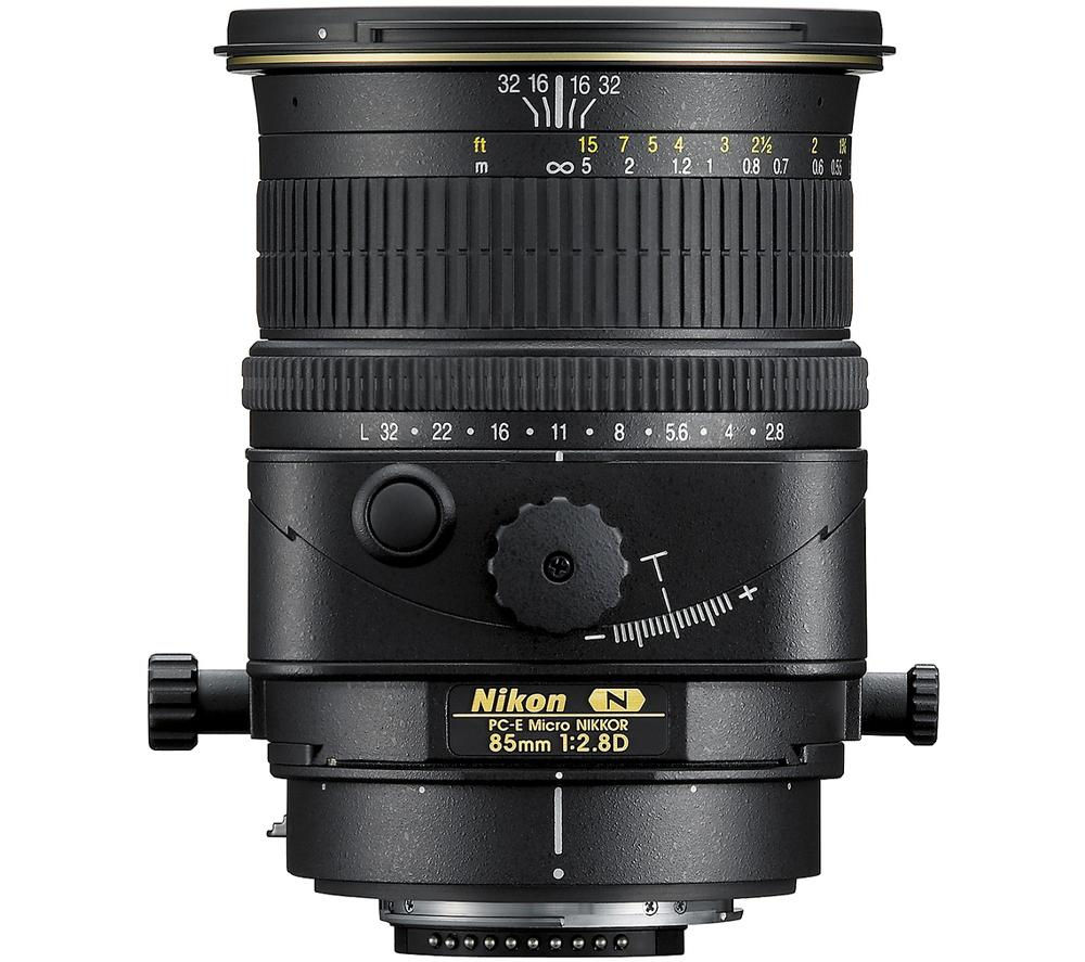 NIKON PC-E Micro NIKKOR 85 mm f/2.8D ED Tilt-shift Lens