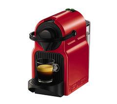 NESPRESSO by Krups Inissia XN100540 Coffee Machine - Ruby Red