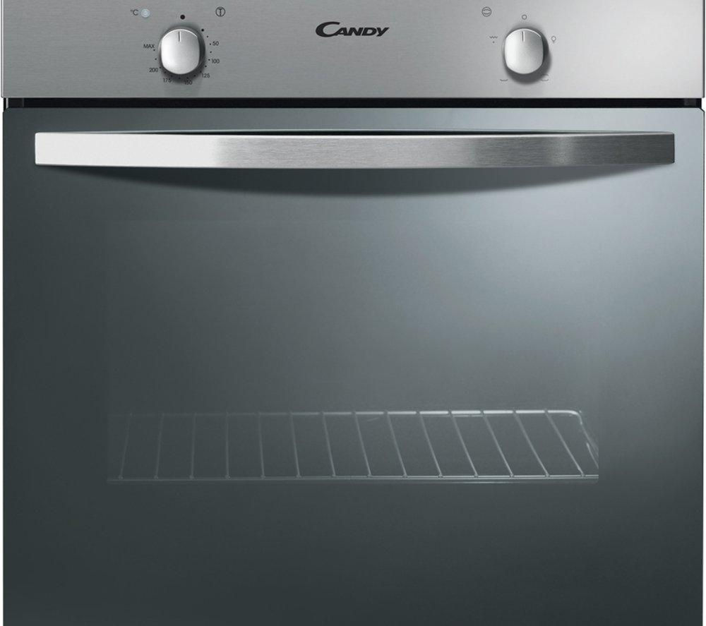 Built In Electric Cooker Part - 39: CANDY FST201/6X Electric Built-under Oven - Stainless Steel