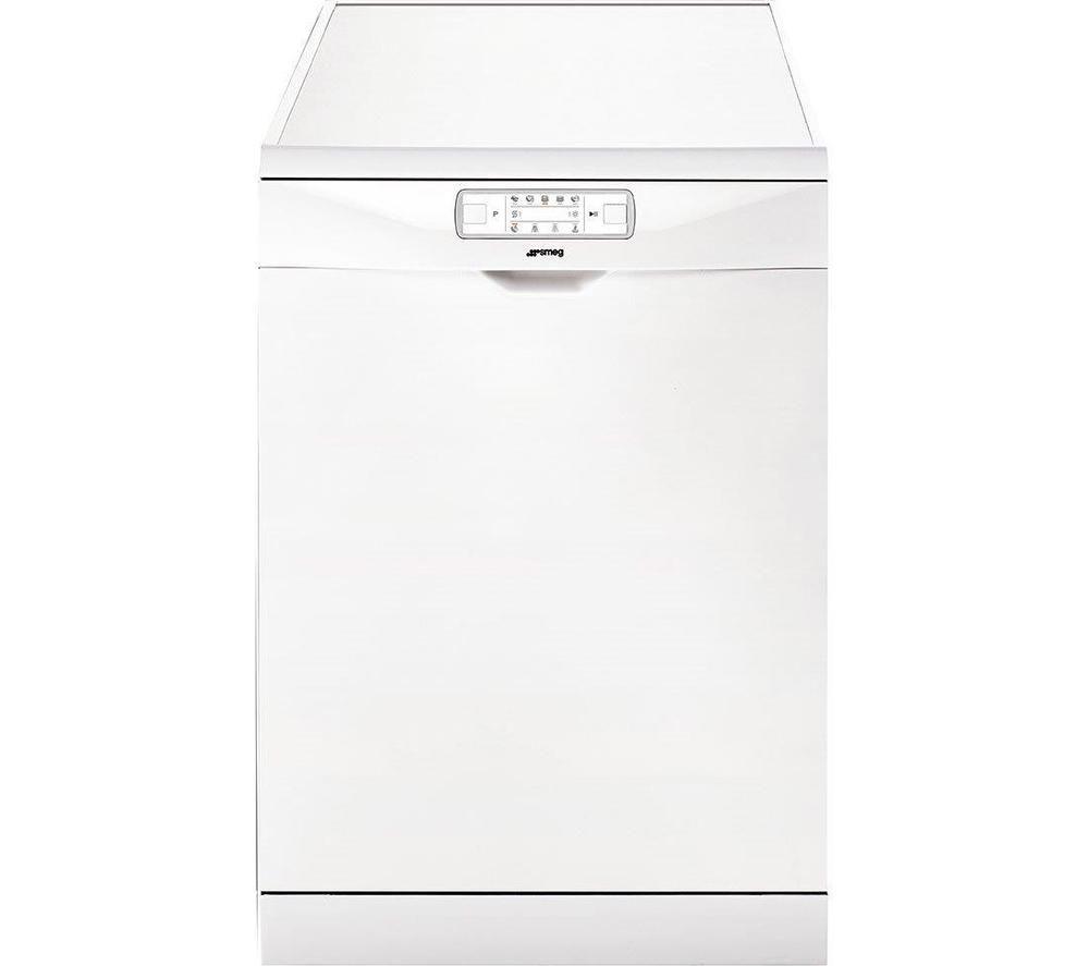 SMEG  DFD613W Full-size Dishwasher – White, White