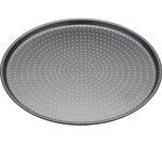 MASTER CLASS Crusty Bake Non-stick Pizza Tray - Stainless Steel