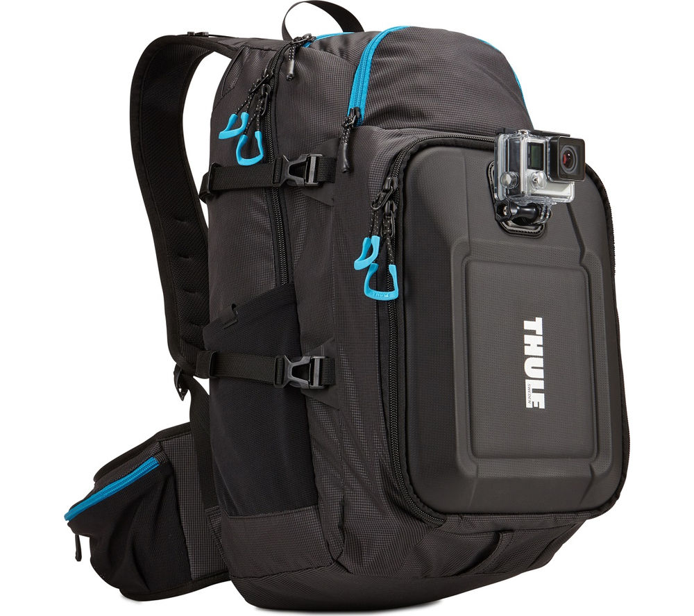 Image of THULE Legend TLGB101 GoPro Backpack - Black, Black