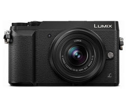 PANASONIC DMC-GX80KEBK Mirrorless Camera with 12-32 mm f/3.5-5.6 Lens - Black