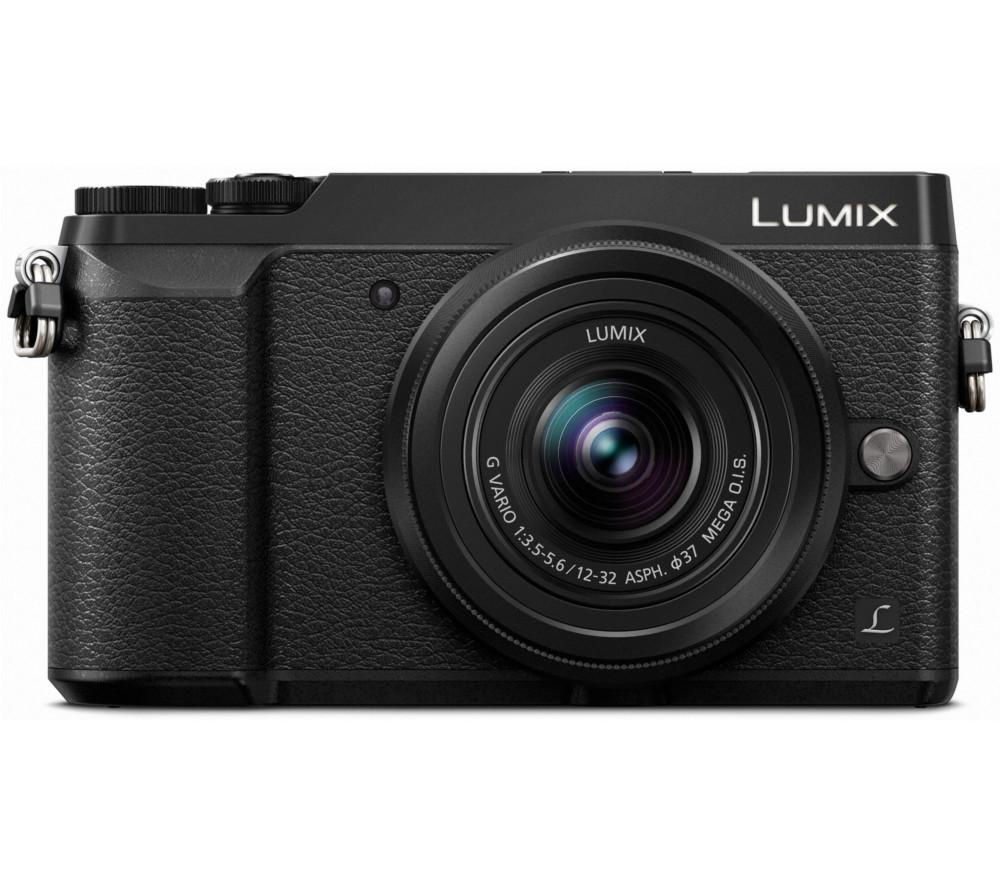 PANASONIC Lumix DMC-GX80 Mirrorless Camera with G Vario 12-32 mm f/3.5-5.6 Asph. Mega O.I.S. Lens