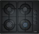 BOSCH POP6B6B80 Gas Hob - Black
