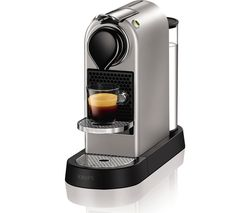 NESPRESSO by Krups CitiZ XN740B40 Coffee Machine - Silver