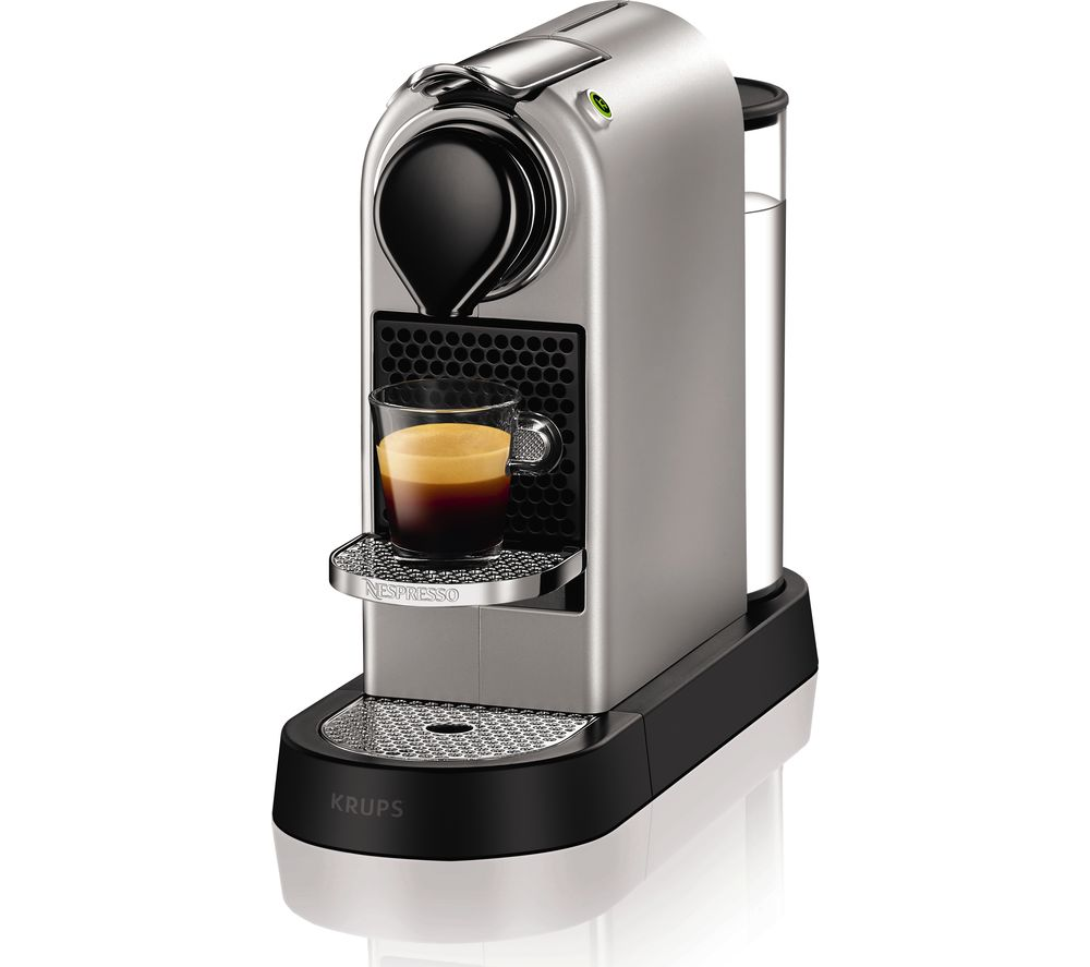 Compare retail prices of Nespresso by Krups CitiZ XN740B40 Coffee Machine to get the best deal online