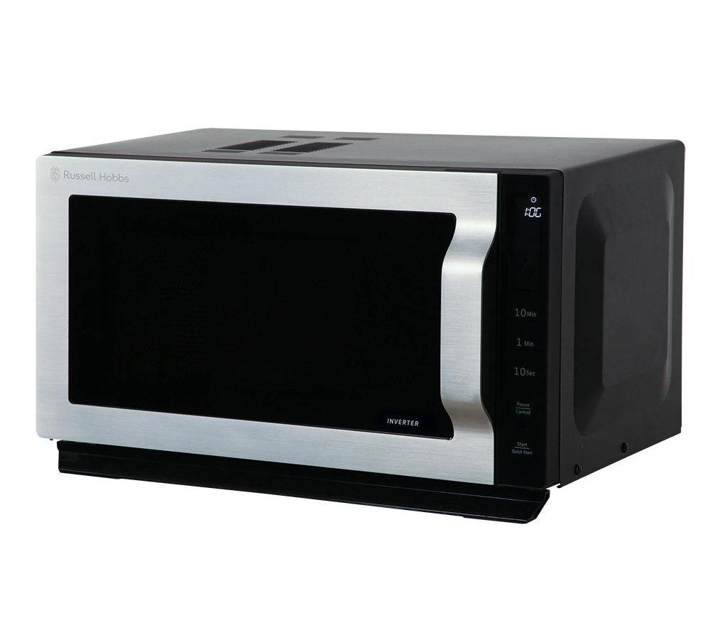 RUSSELL HOBBS RHVM901 Solo Microwave – Black, Black