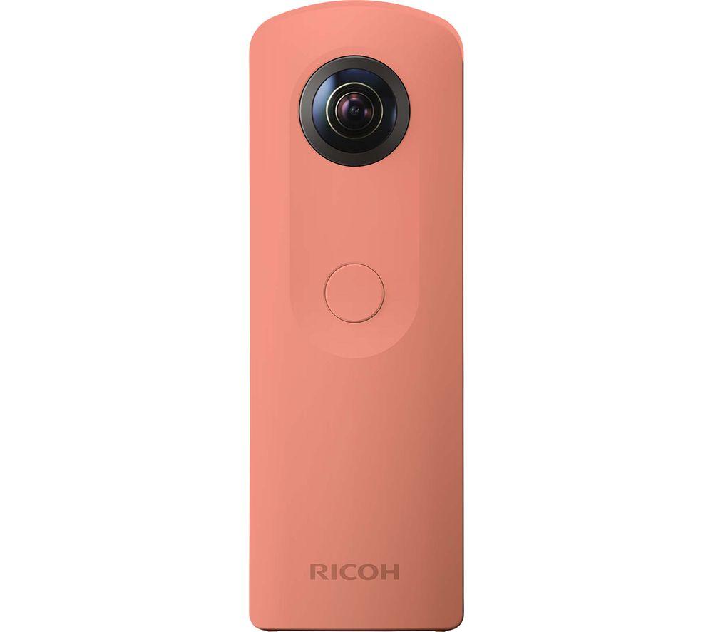 RICOH Theta SC 360 Action Camcorder - Pink