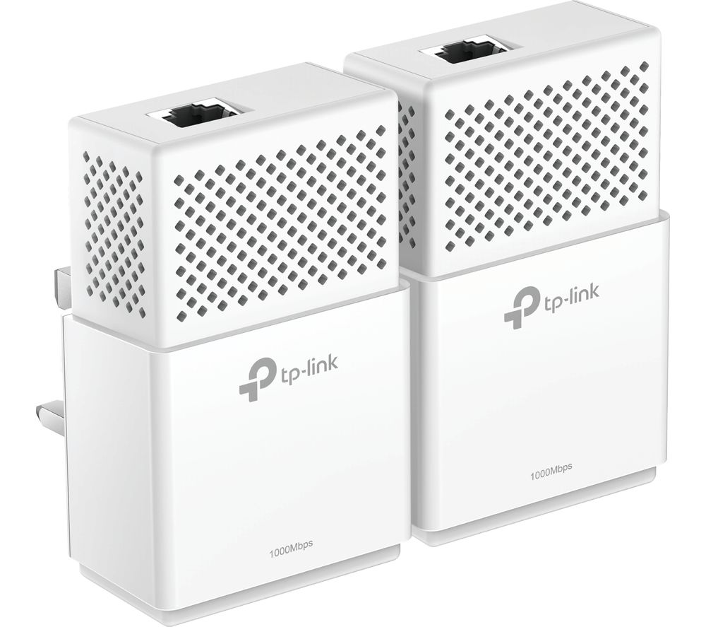 TP-LINK PA7010 Powerline Adapter Kit - AV1000, Twin Pack