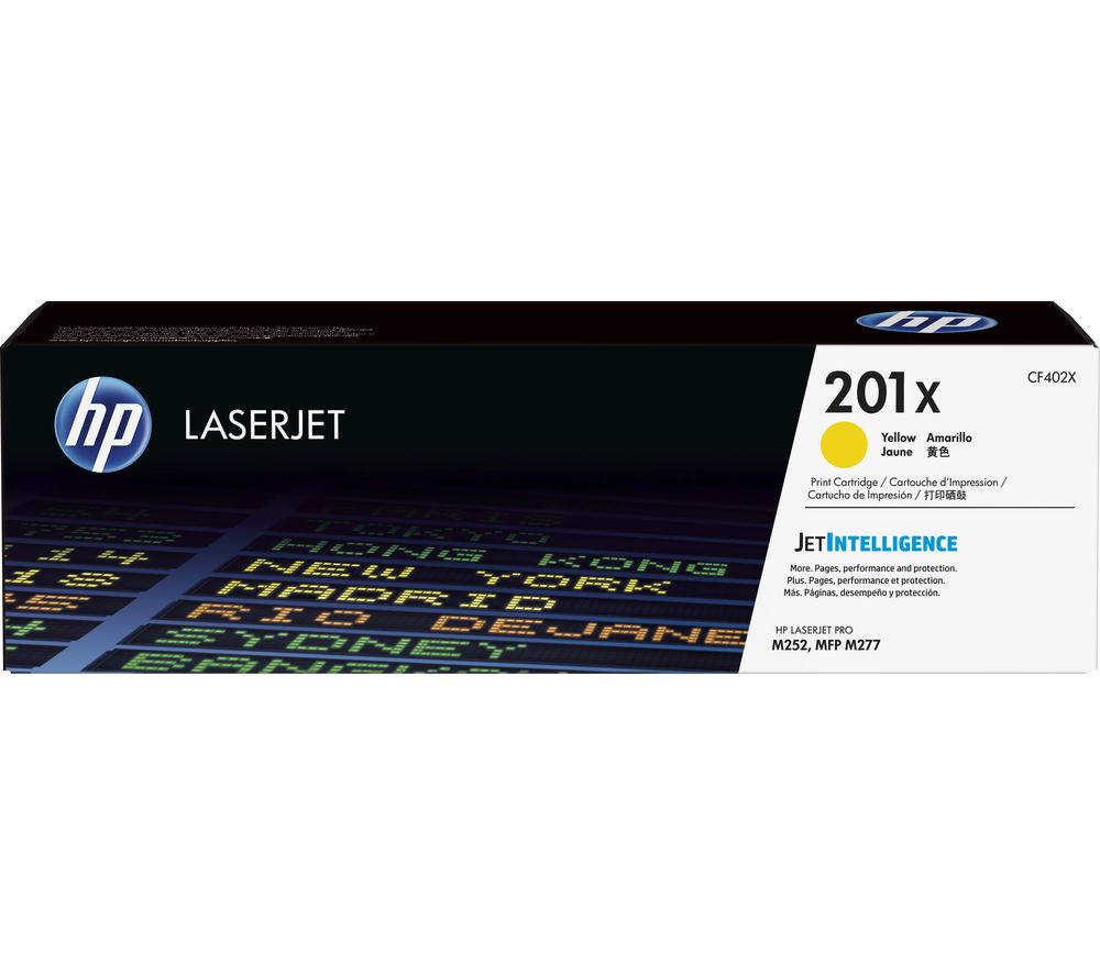 Compare retail prices of HP 201X Yellow Toner Cartridge to get the best deal online