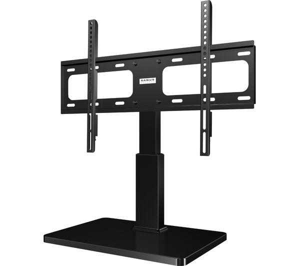 Image of SANUS VTVS1-B2 318 mm TV Stand with Bracket - Black