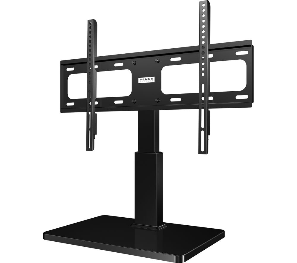 SANUS VTVS1-B2 318 mm TV Stand with Bracket - Black, Black