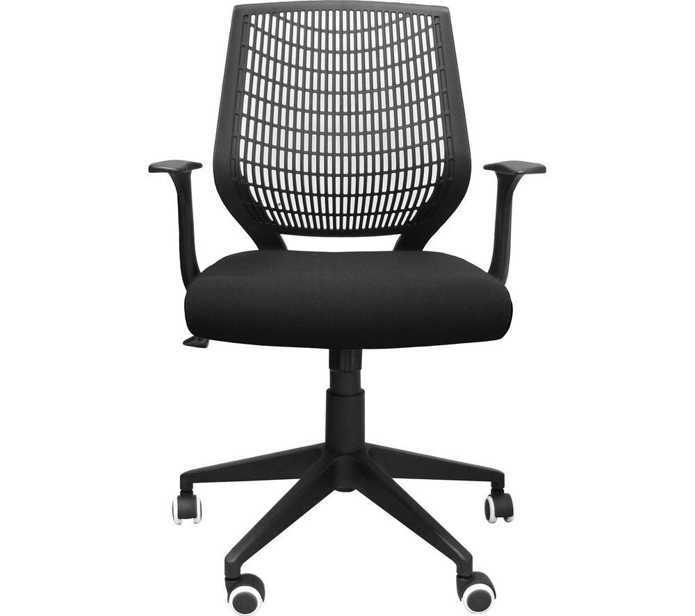 ALPHASON Pace AOC9540-F-BK Fabric Tilting Operator Chair - Black