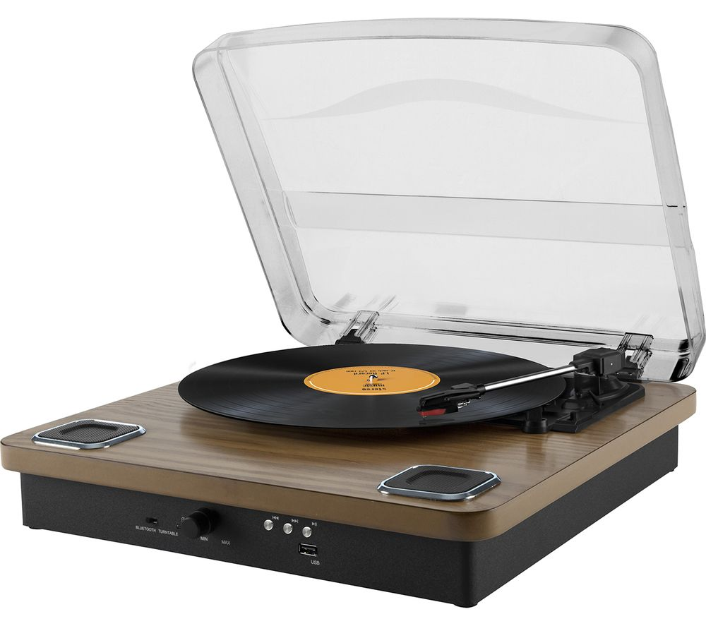 AKAI Classic A60020 Bluetooth Turntable - Wood