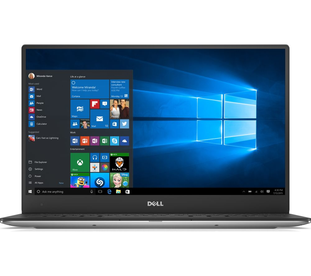 "Image of DELL XPS 13 9360 13.3"" Touchscreen Laptop - Silver, Silver"