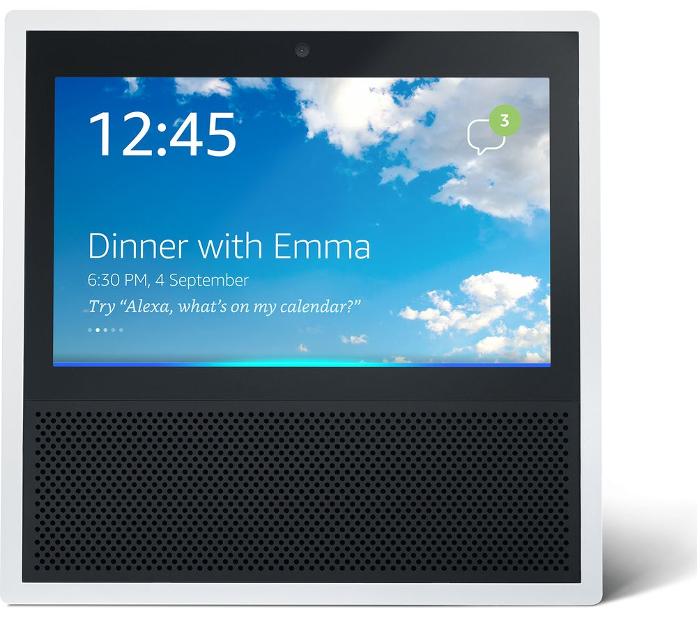 Image of Amazon Echo Show - White, White