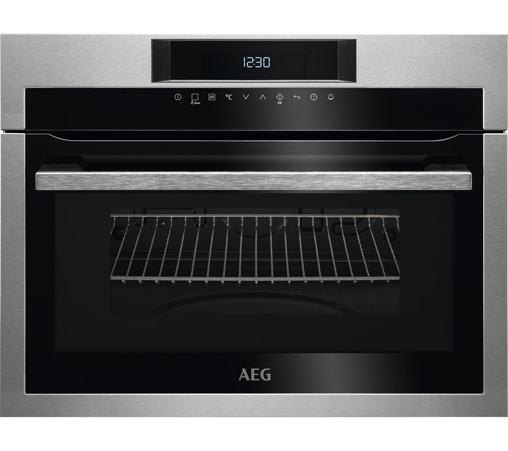 Aeg Kme721000m Built In Microwave With Grill Black