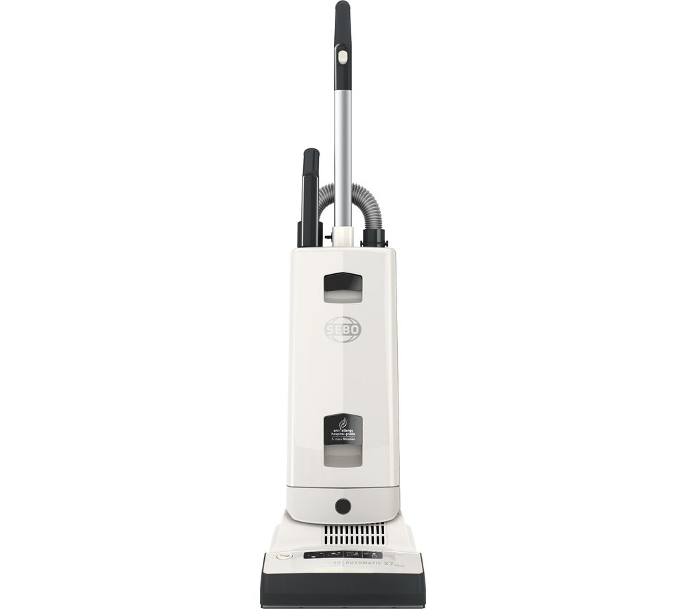 SEBO Automatic X7 ePower 91501GB Upright Vacuum Cleaner - White & Grey
