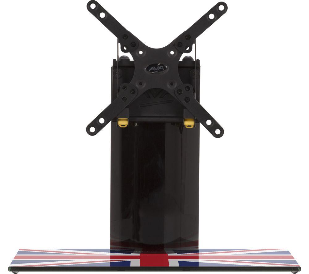AVF B200UK 450 mm TV Stand with Bracket - Union Jack