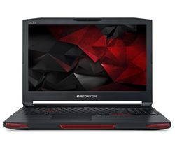 "ACER Predator X 17"" Intel® Core™ i7 GTX 1080 Gaming Laptop - 1 TB HDD & 256 GB SSD"
