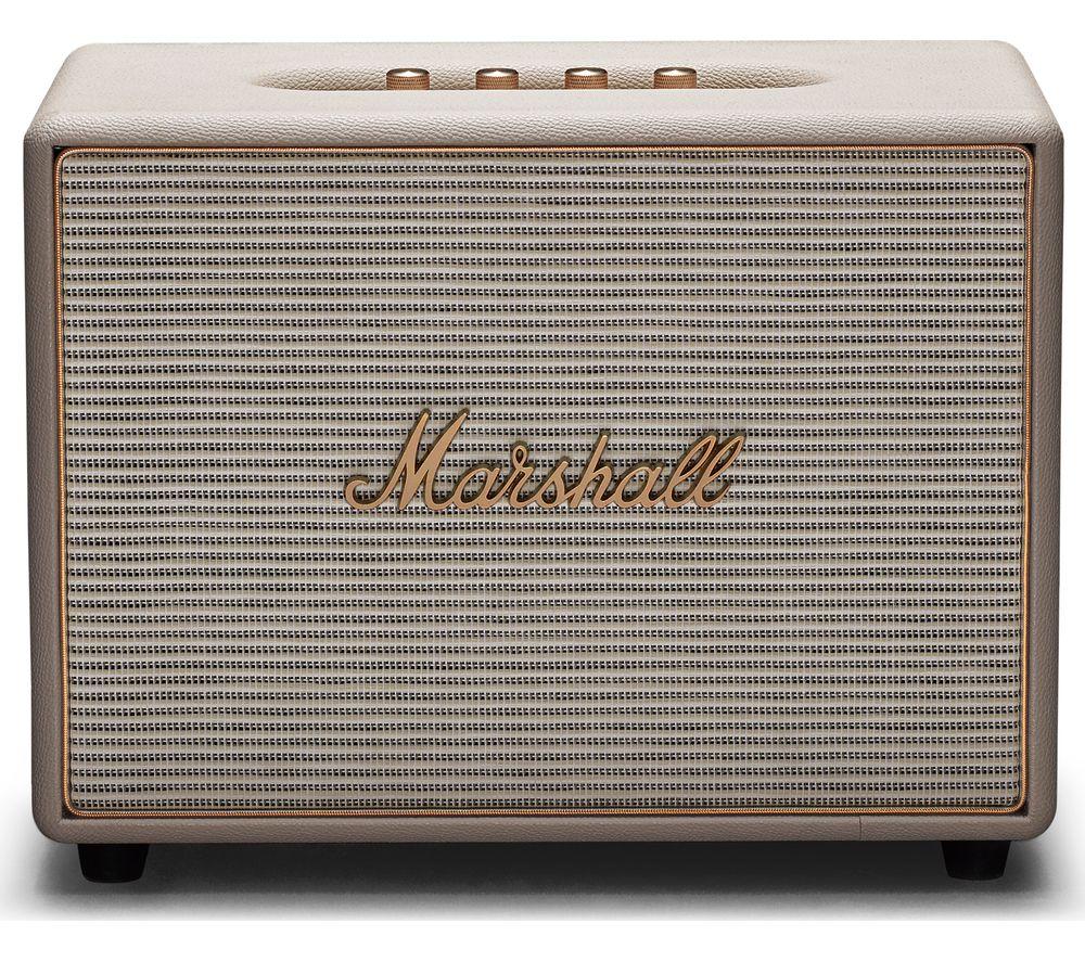 MARSHALL Woburn Wireless Smart Sound Speaker - Cream