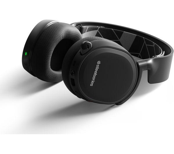 8933c7e3fbb STEELSERIES Arctis 3 7.1 Bluetooth Wireless Gaming Headset - Black ...