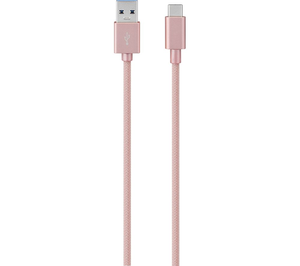 SANDSTROM SCA1RG18 USB Type-C to USB-A Cable - 1 m