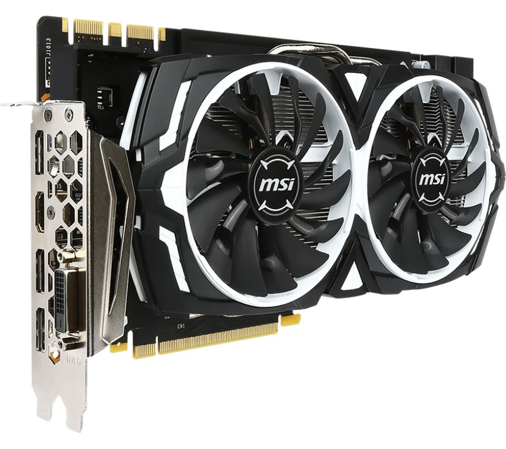 MSI GeForce GTX 1080 8 GB ARMOR Graphics Card
