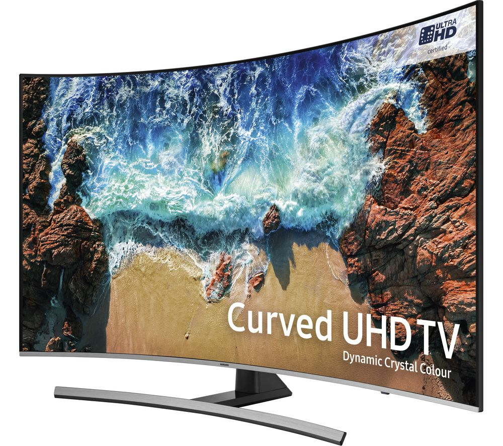 "Grundig Ultra Hd 4k Smart Tv 55 Smart Tv To Old Receiver Tv Vhs Usato Full Hd Monitor For Gaming: Buy SAMSUNG UE65NU8500 65"" Smart 4K Ultra HD HDR Curved"