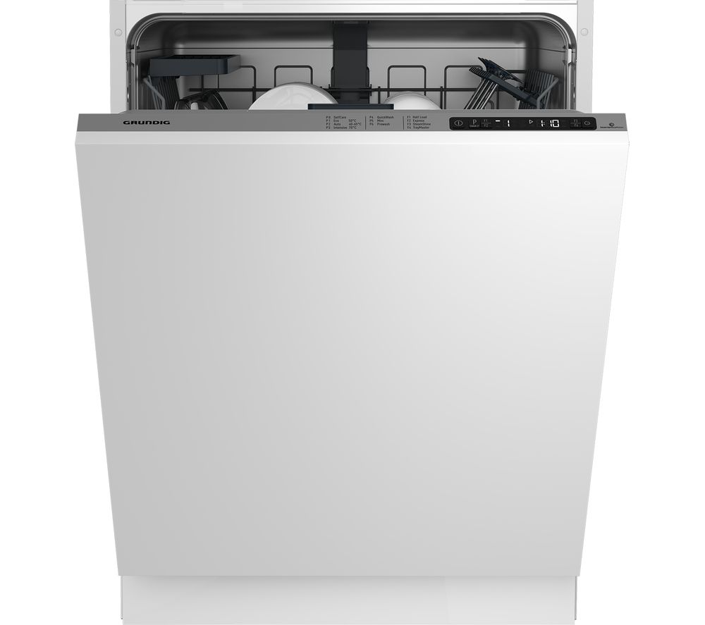 GRUNDIG GNV22620 Full-size Integrated Dishwasher