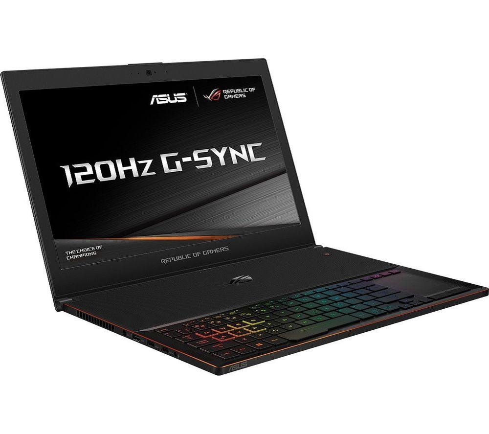 "Image of ASUS ROG Zephyrus GX501GI 15.6"" Intel® Core™ i7 GTX 1080 Gaming Laptop - 512 GB SSD"