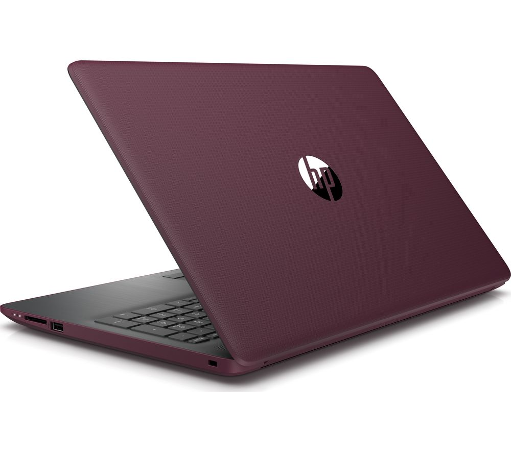 "HP 15-db0599sa 15.6"" AMD A6 Laptop - 1 TB HDD, Burgundy"